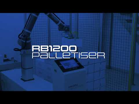 OMRON and Reeco introduce the RB1200 Cobot Palletiser