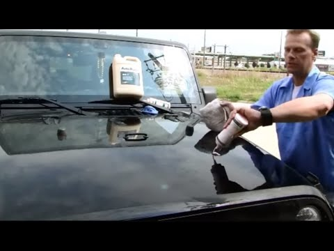 """How to remove spray-foam overspray """"Auto Paint Overspray Removal of Texas Onsite Services"""""""