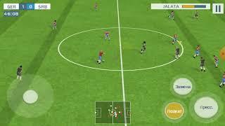 сборная Германии против сборной Сербии Real football 2019