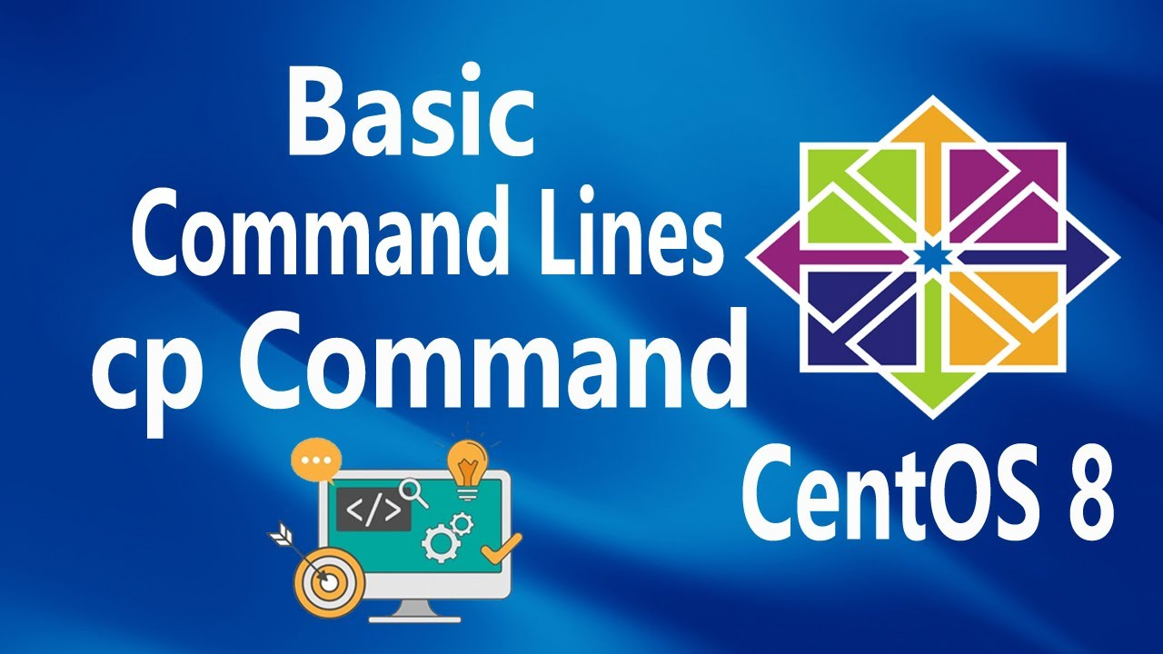 cp command on Linux CentOS 8