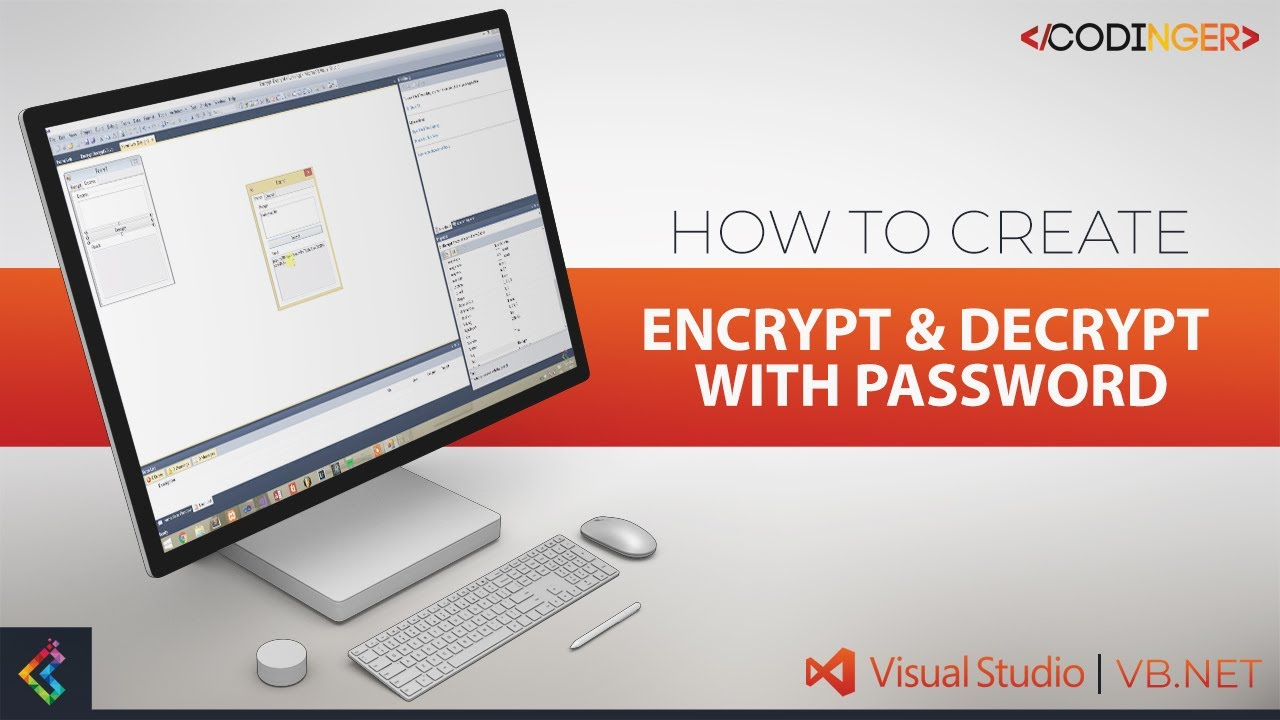 VB NET - How to create Encrypt & Decrypt with password
