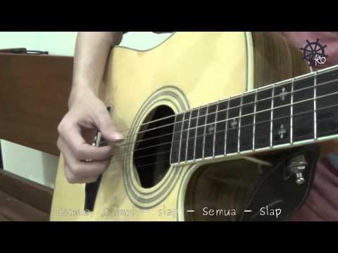 5 MENIT Belajar Gitar (Uptown Funk - Bruno Mars)