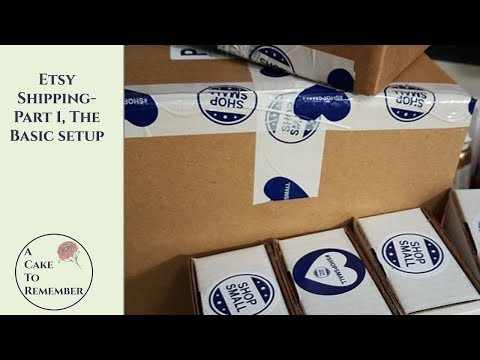 How Does Etsy Shipping Work? Part 1, the basics. Etsy shipping tutorial
