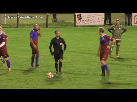 02.11.2019  Championnat 3eme Ligue FC La Sagne - FC Saint-Blaise  0 - 5 (0-1)