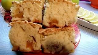 Воздушный яблочный пирог который тает во рту!!!Самый простейший рецепт шарлотки!