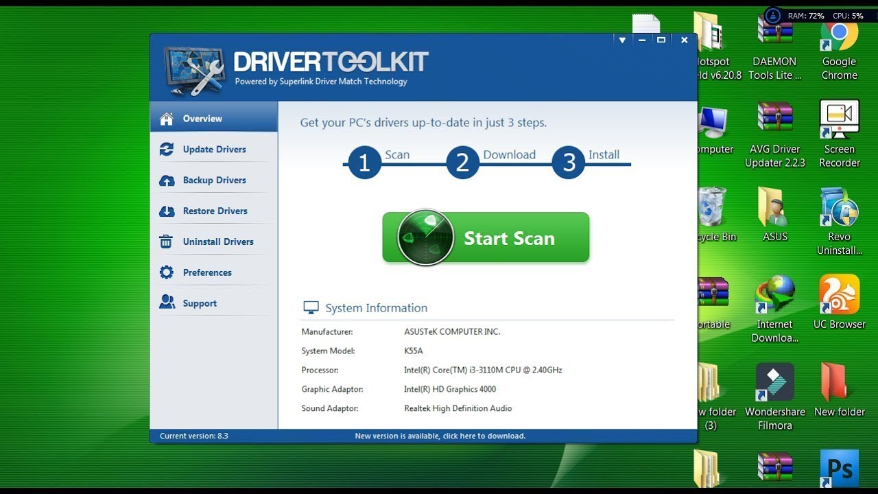 driver toolkit 8.5 crack license key full download