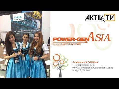 PowerGen Asia 2015, Bangkok • Exhibitor Notes • AKTIV Booth Construction & Film Production