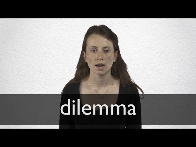 Dilemma definition and meaning | Collins English Dictionary