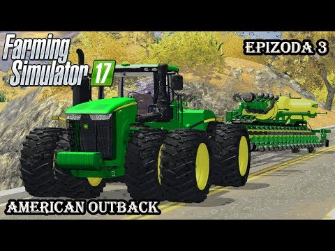 Farming Simulator 2017 | American Outback| Epizoda 3