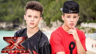 The Brooks sing Christina Perri's Jar of Hearts | Judges' Houses | The X Factor UK 2014