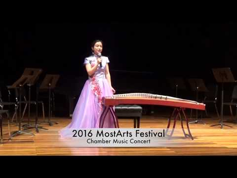 高山流水 High Mountains and Flowing Water, guzheng solo by Zhongbei (Daisy) Wu