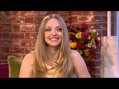 Amanda Seyfried Lovelace Interview This Morning 2013