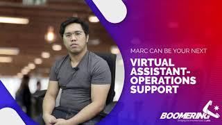 MARC as VIRTUAL ASSISTANT - OPERATIONS SUPPORT