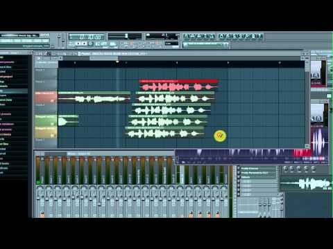 The BEAT TAGS King makes a Beat Tag with FL Studio