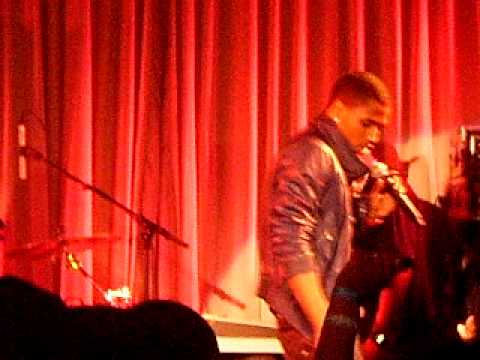 TREY SONGZ PERFORMING @ CANAL ROOM NYC