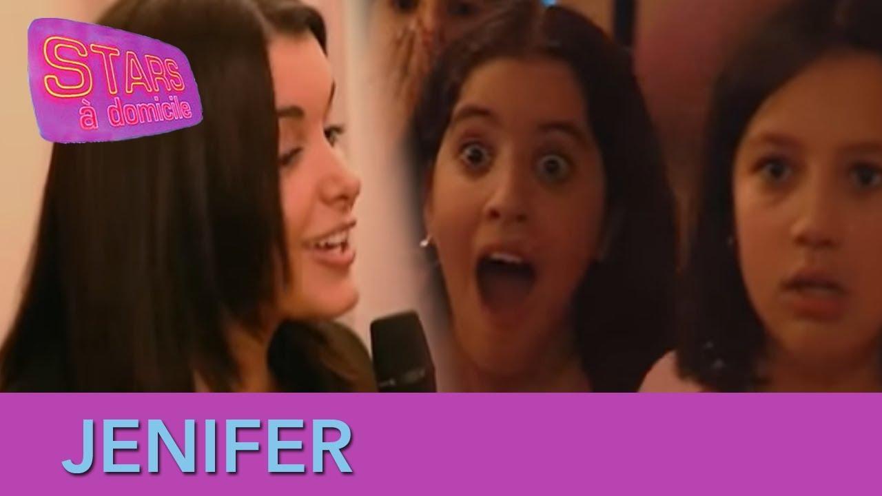 Jenifer interrompt un anniversaire - Stars à domicile #9