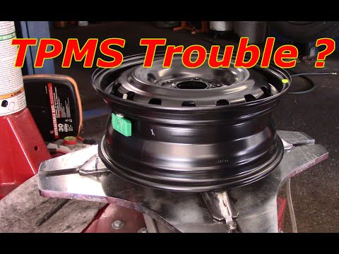 How To Replace Or Reprogram A New TPMS Sensor