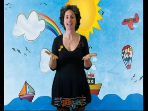 Canción infantil en LSE «Mi Vecina (transportes)»