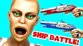 I JUMPED ONTO AN ENEMY SHIP IN ATLAS! (ATLAS Gameplay)