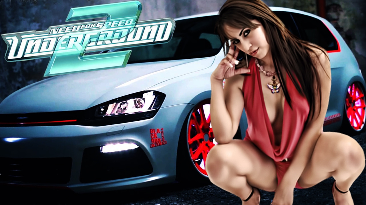 Sexy Girl In Need For Speed