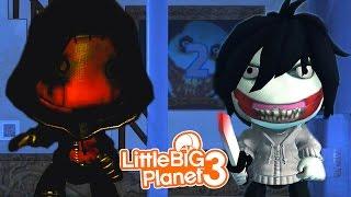 JEFF THE KILLER VS EYELESS JACK! | LittleBIGPlanet 3 Gameplay (Playstation 4)