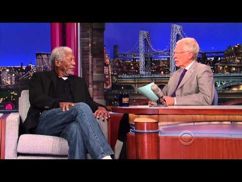Morgan Freeman on David Letterman - November 1 2013 - Full Interview