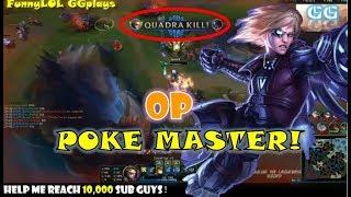 英雄联盟 - LOL - Best Ezreal Montage - POKE MASTER! - How to play Ezreal Like a Boss《GGPlays》