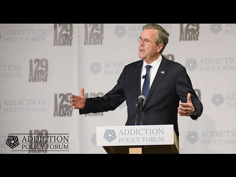 Governor Jeb Bush at the New Hampshire Addiction Forum