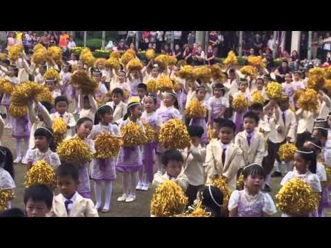 การแสดงของน้อง ป.1 งานประจำปีสาธิตเกษตร 2558