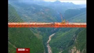 สะพานสูงที่สุดในโลกในจีน เทียบเท่าตึก 200 ชั้น