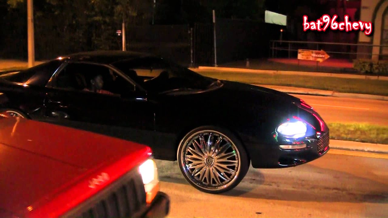 Chevy Camaro On 24 Davin Emotion Floaters 1080p HD