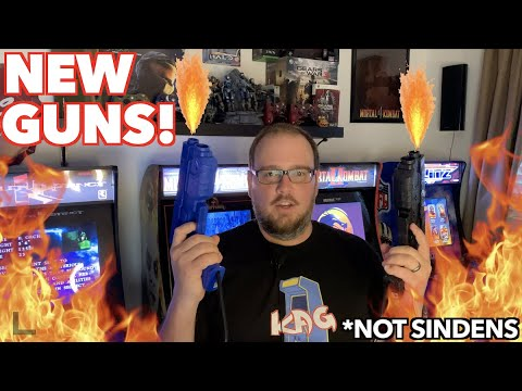I Got Light New Guns with Force Feedback! | CarnEvil Arcade1Up Mod Update! from Killer Arcade Games
