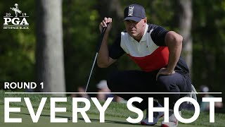 Brooks Koepka: Every shot in record 63 in first round at 2019 PGA Championship