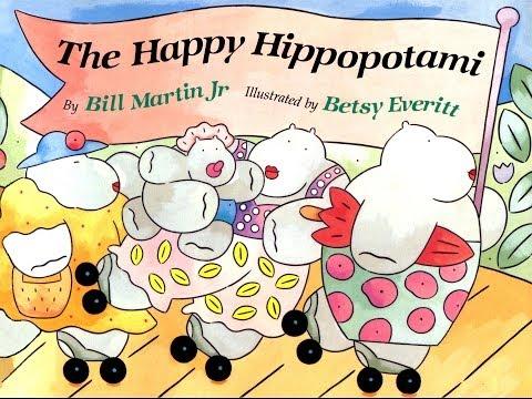 The Happy Hippopotami by Bill Martin Jr.  Grandma Annii's Storytime