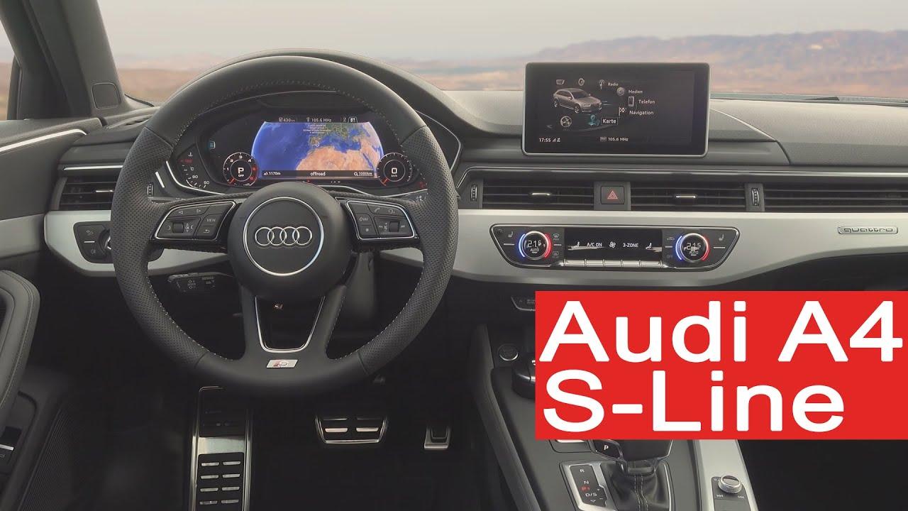 Audi A4 Avant B9 S Line Youtube