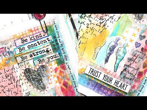 Art Journal: Be Kind with Shari Carroll