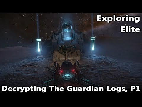 Starting Ram Tah's New Decrypting Mission in this week's Exploring Elite