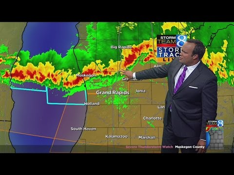 Storm Team 8 tracks weather over W. Mich.