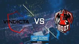 CSGO   BOOT dreamScape vs  Vindicta Inferno Map 1   Asia Minor SEA Closed Qualifier   IEM Katowice 2