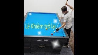 Le Khiem billard - Sự trở lại của Lê Khiêm - 1 thương hiệu cơ bida Mới