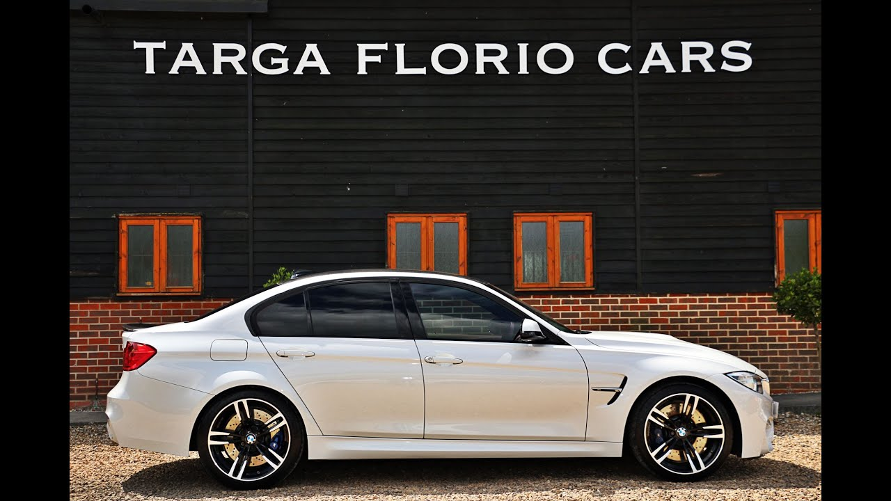 BMW M Twin Turbo For Sale In Mineral White London UK YouTube - Bmw 2015 m3 for sale