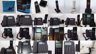 Alcatel Versatis E100 Combo :  видео обзор DECT-радиотелефона