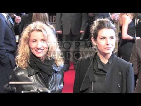 "Film PREMIERE - ""Les petits Mouchoirs"" on The Champs Elysees in Paris, France"