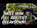 Mole Man Full Abilities Breakdown! - Corvus 2.0? - God Tier Burst?!? - Marvel Contest of Champions