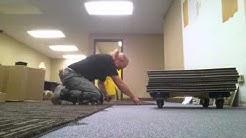 carpet tile over carpet