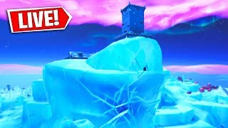 *NEW* FORTNITE POLAR PEAK CRACKING! (FORTNITE BATTLE ROYALE)