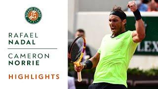 Rafael Nadal vs Cameron Norrie - Round 3 Highlights I Roland-Garros 2021