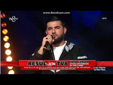 Resul Aydemir (Misal) - Masal | O Ses Türkiye Çeyrek Final | 9 Mart 2017 | HD İZLE