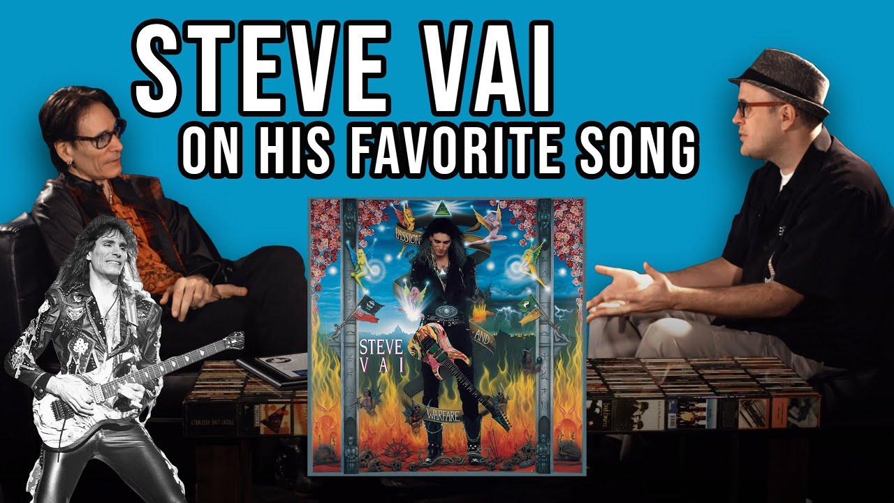 Steve Vai Interview On His Favorite Composition   Pop Fix   Professor of Rock