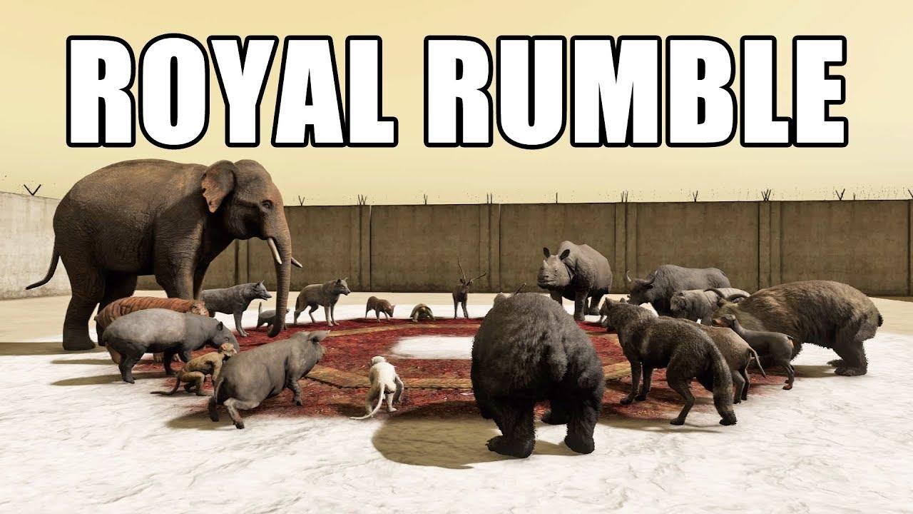 ANIMAL FIGHT: ROYAL RUMBLE (Map Editor)